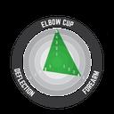 Elbow Guard 3DF 5.0 Fuel/Blk #S