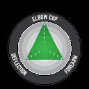 Elbow Guard 3DF Hybrid Fuel/Blk #S/M