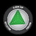 Elbow Guard Contour Fuel/Blk #S/M